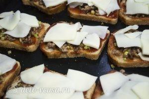 Горячие бутерброды с фаршем: Запечь в духовке