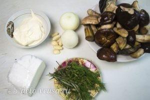 Грибы запеченные: Ингредиенты