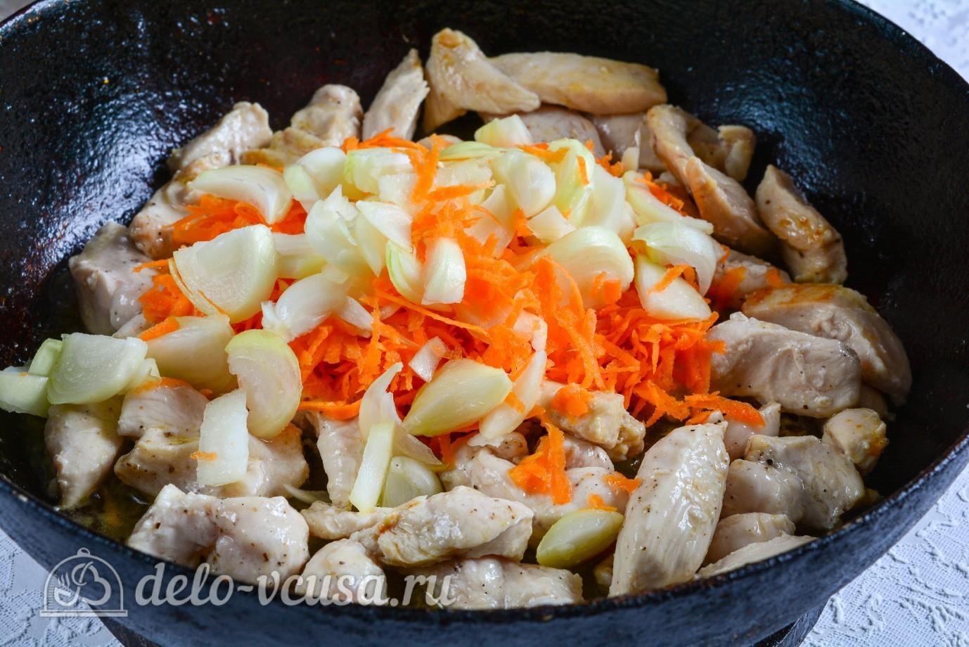 Гуляш из курицы рецепт пошагово со сметаной 57