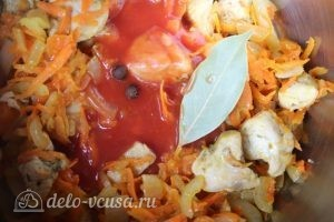 Гречка по-купечески: Добавляем томатный сок, лавровый лист и душистый перец
