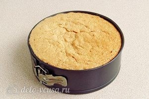 Простой бисквитный корж для торта: Выпекаем корж