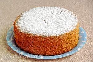 Простой бисквитный корж для торта готов