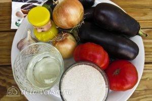 Икра из баклажанов на зиму: Ингредиенты