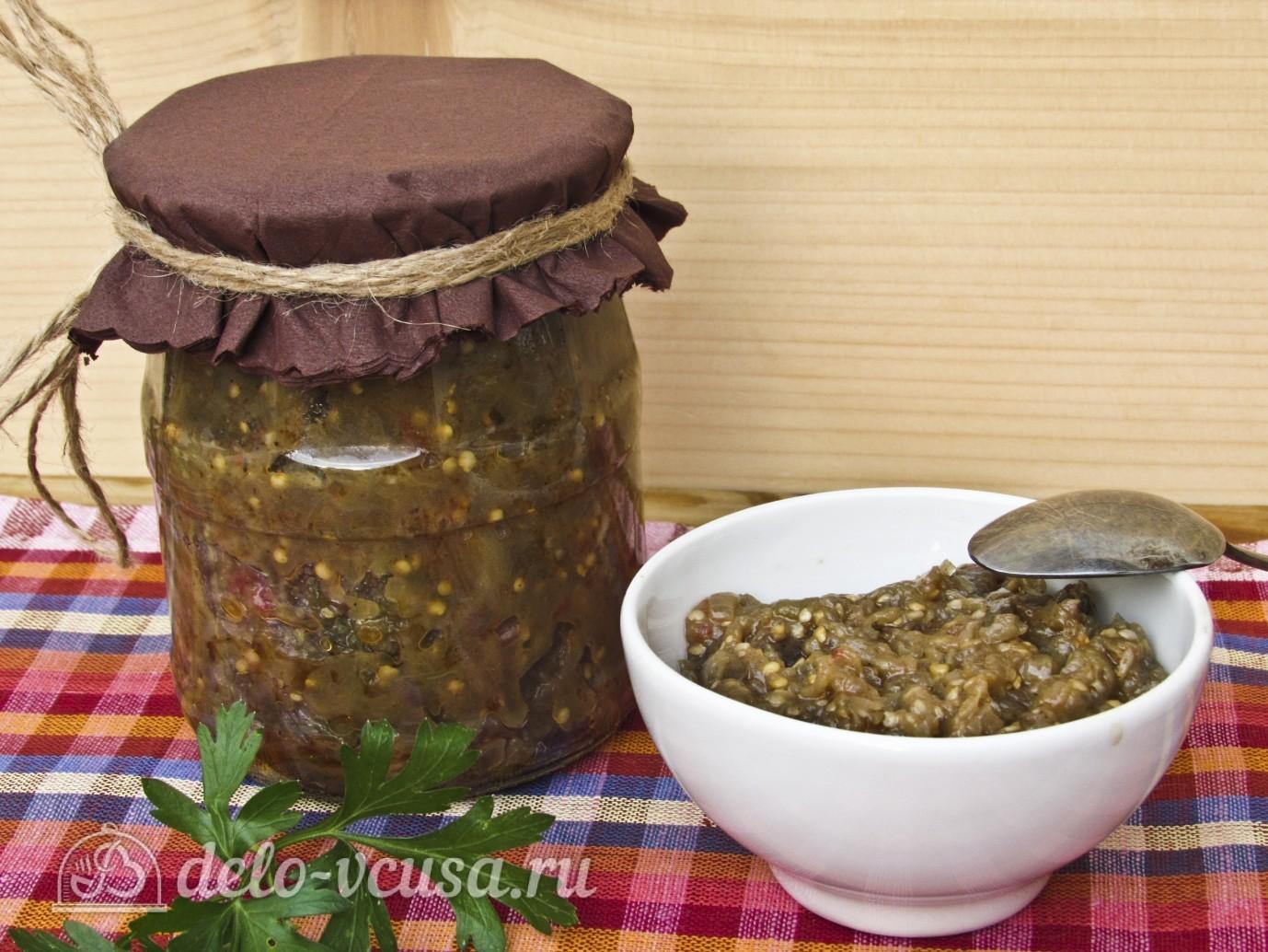 Как приготовить икру из баклажанов на зиму