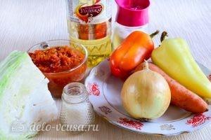 Перец, фаршированный овощами: Ингредиенты