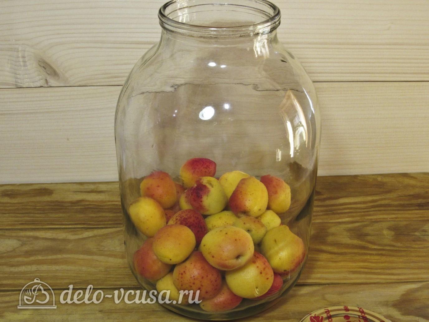 Готовим любимый и вкусный компот из абрикосов рецепт с фото