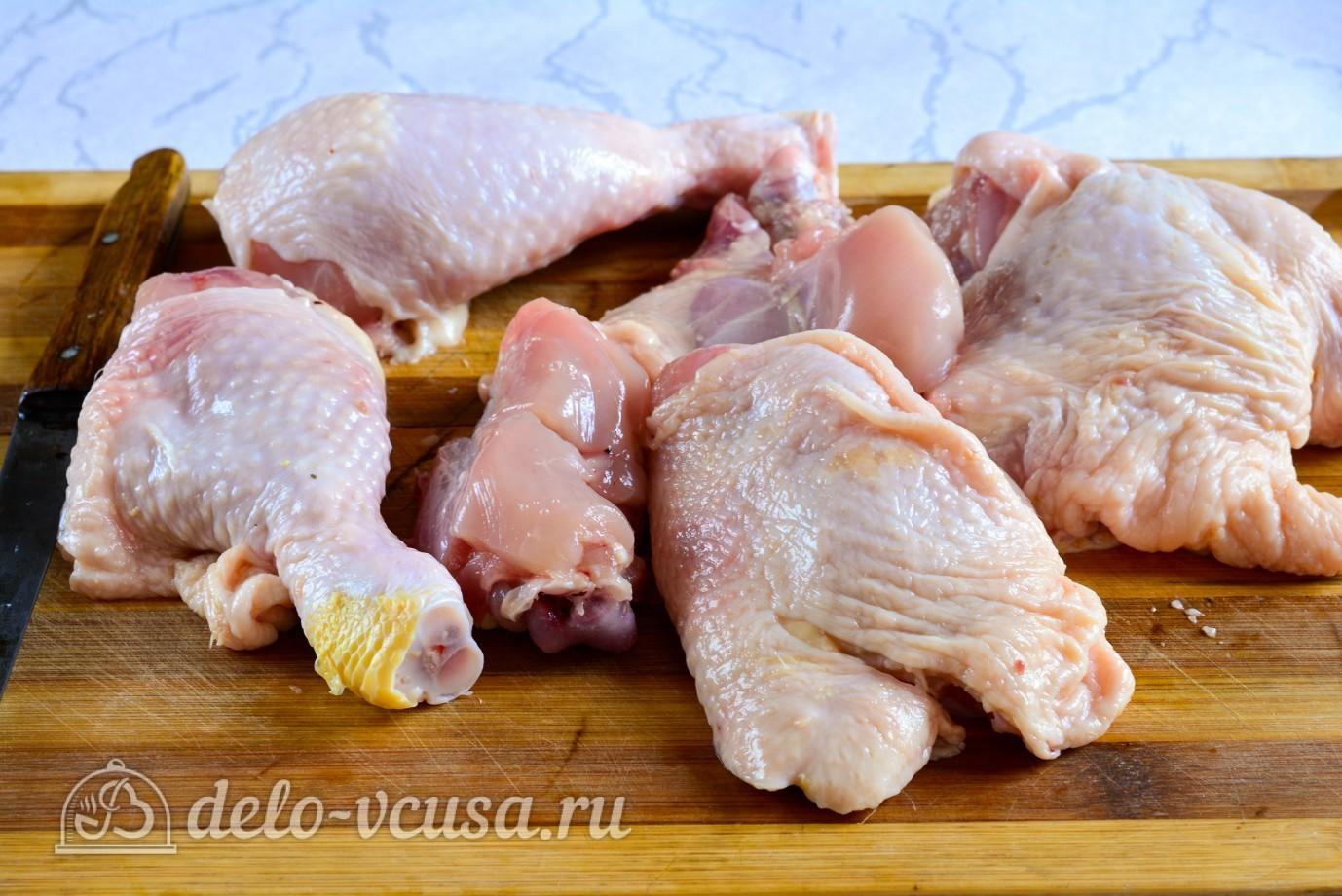 рецепт как приготовить курицу в майонезе в духовке