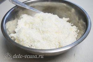 Куриный рулет с рисом: Добавить тертый сыр
