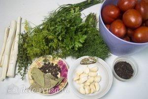 Маринованные помидоры: Ингредиенты