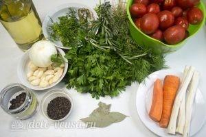 Маринованные помидоры с морковью: Ингредиенты