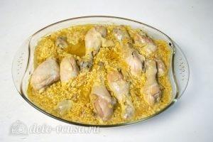 Рис с куриными ножками в духовке: Запекаем до готовности