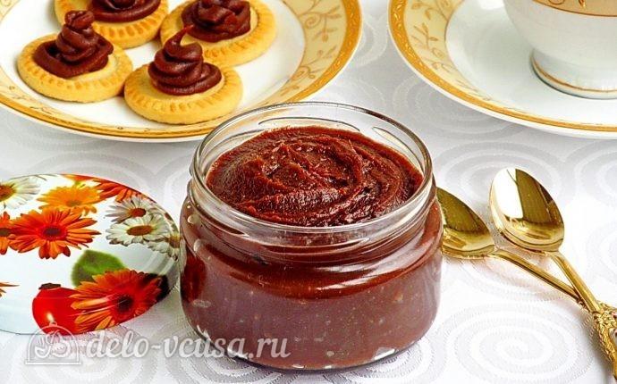 Домашняя шоколадная паста: фото блюда приготовленного по данному рецепту