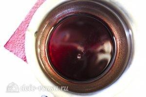 Шоколадный кекс с вишней: Приготовить заливку