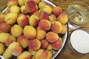 Варенье из абрикосов половинками: Ингредиенты