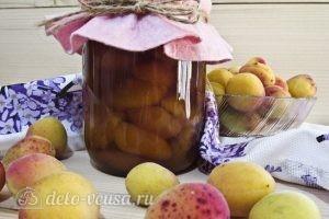 Варенье из абрикосов половинками