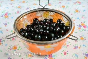Варенье из черной смородины на зиму: Промыть смородину