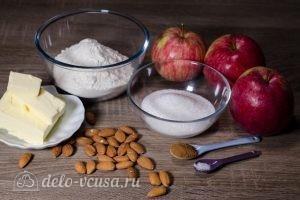 Яблочный крамбл: Ингредиенты
