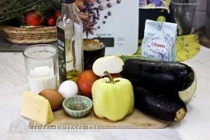 Запеканка из кабачков и баклажанов: Ингредиенты