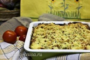 Запеканка из кабачков и баклажанов: Отправляем запеканку в духовку