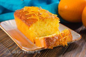 Апельсиновый кекс с пропиткой готов