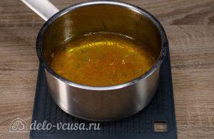 Апельсиновый кекс с пропиткой: Варим сироп до прозрачности цедры