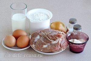 Чебуреки на кефире с мясом: Ингредиенты