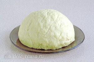 Чебуреки на кефире с мясом: Замесить тесто