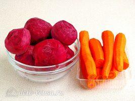 Икра из свеклы на зиму: Очистить свеклу и морковь