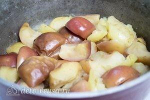 Яблочное масло: Пробить яблоки