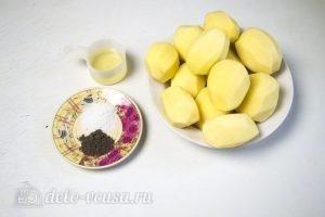 Картошка запеченная в духовке: Ингредиенты
