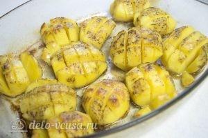 Картошка запеченная в духовке готова