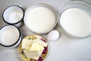 Крем пломбир на сливках: Ингредиенты