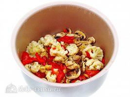 Овощное рагу с курицей в мультиварке: Тушить рагу