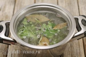 Соленые огурцы с водкой: Готовим рассол