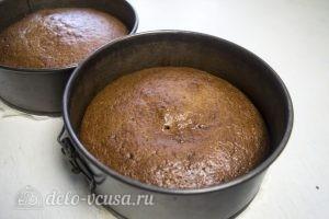 Тыквенный торт с творожным кремом: Выпекаем до готовности