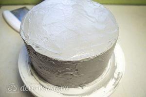 Тыквенный торт с творожным кремом: Спрятать торт в холодильник