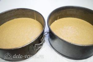 Тыквенный торт с творожным кремом: Выпекаем коржи