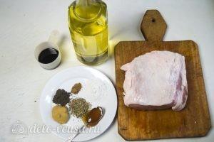 Свинина запеченная в рукаве: Ингредиенты
