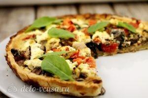 Киш с курицей и грибами: Храним в холодильнике