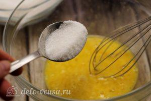Заварные блины на сливках: Добавить сахар