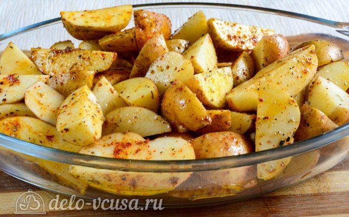 картофель по деревенски в духовке рецепт с видео