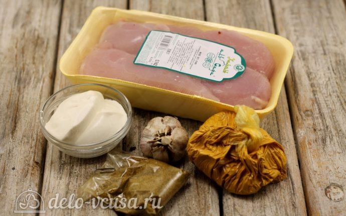 приготовить курицу в сливках в духовке рецепт