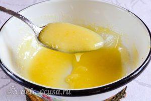 Лимонный курд: Крем должен стать густым и тягучим