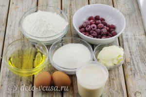 Маффины с малиной: Ингредиенты