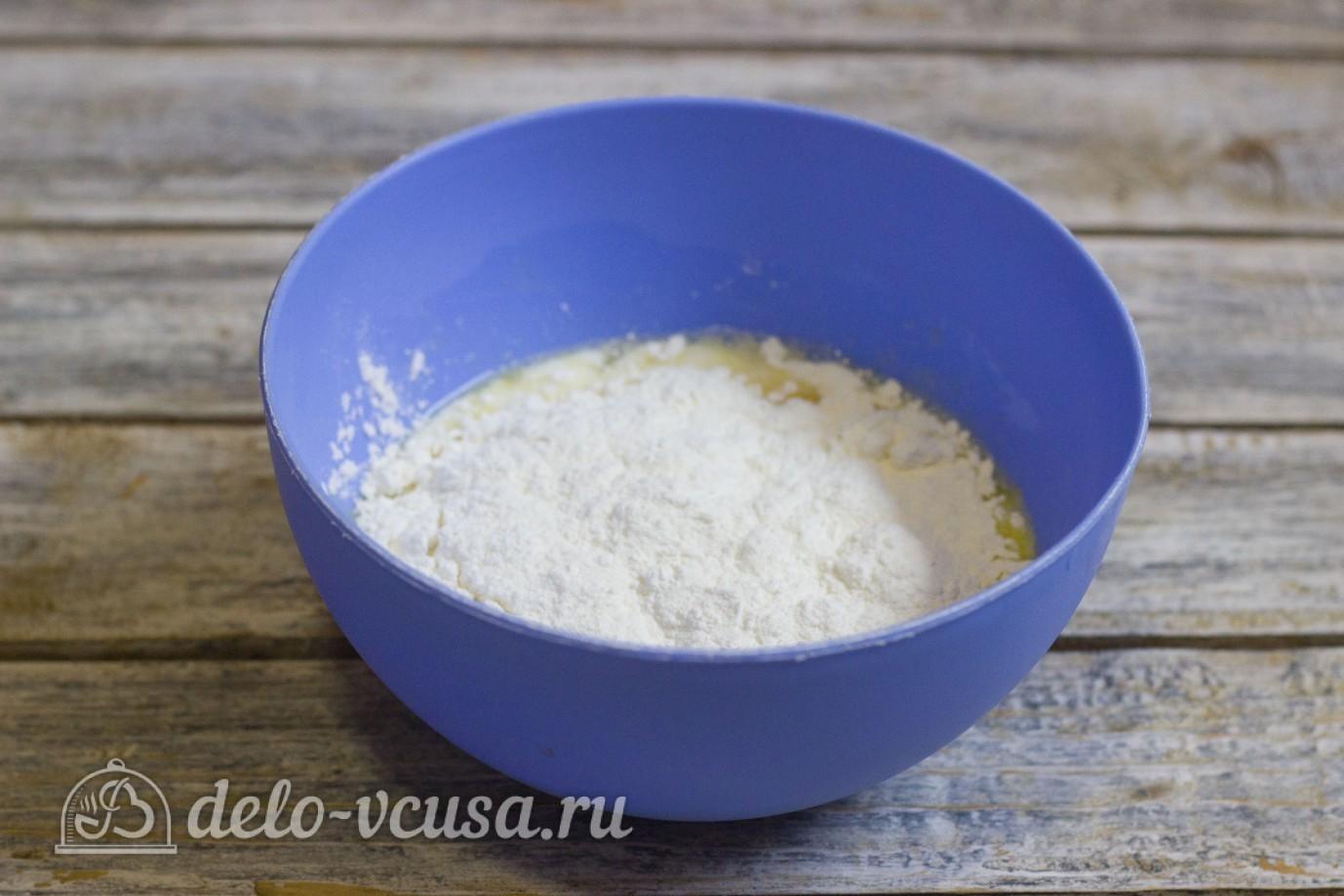 блины на кефире рецепт с разрыхлителем
