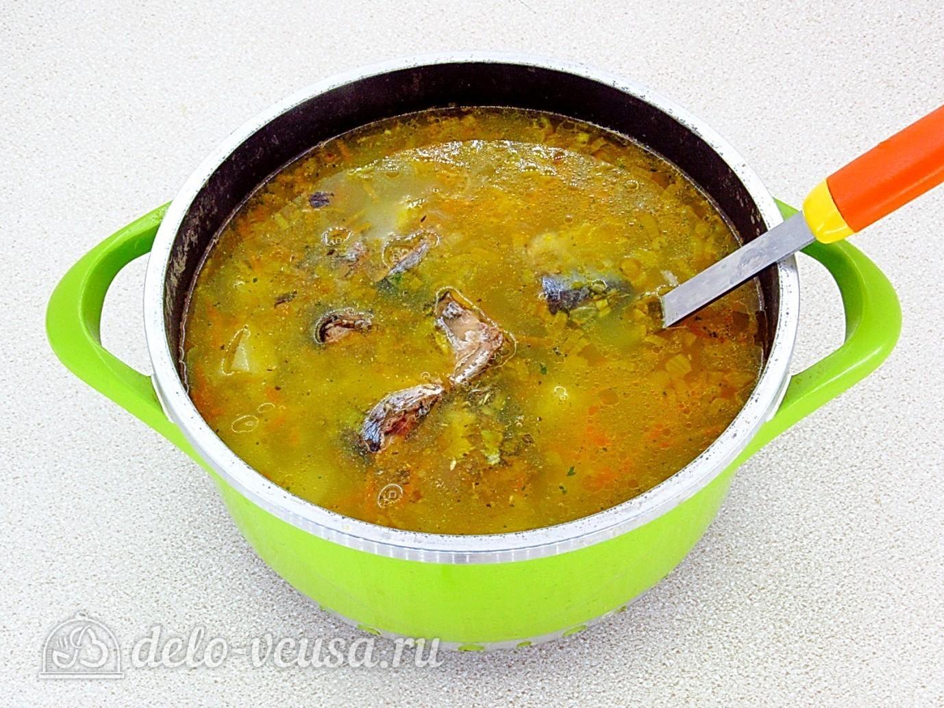 рецепт суп с консервой и рисом рецепт с фото пошагово в кастрюле