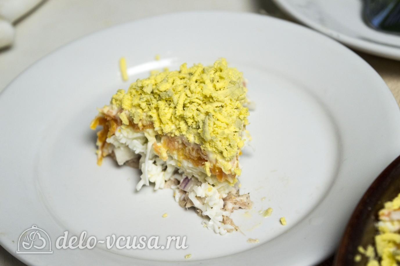 Салат мимоза без картошки рецепт пошагово в 68