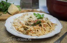Спагетти Путанеска с помидорами и анчоусами