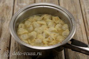 Суп с пельменями: Варим до готовности