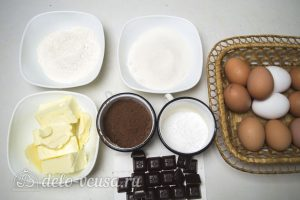 Торт Совенок: Ингредиенты